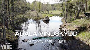 Ådala Vindskydd , Östgötaleden, Ydre | VISIT YDRE