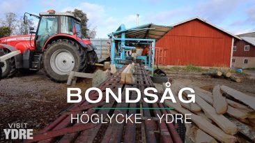 Bondsåg hos Höglycke Farming, Ydre | VISIT YDRE