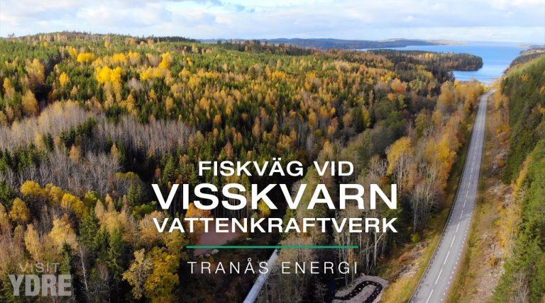 Fiskväg vid Visskvarn vattenkraftverk, Norra Vi Socken, Ydre, Östergötland | VISIT YDRE